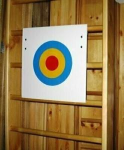 Щит для метания навесной на шведскую стенку 70x70 см.