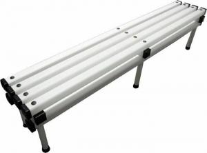 Скамья пластиковая усиленная 200х38х47 см