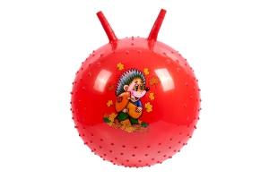 Детский массажный гимнастический мяч, красный BRADEX DE 0539