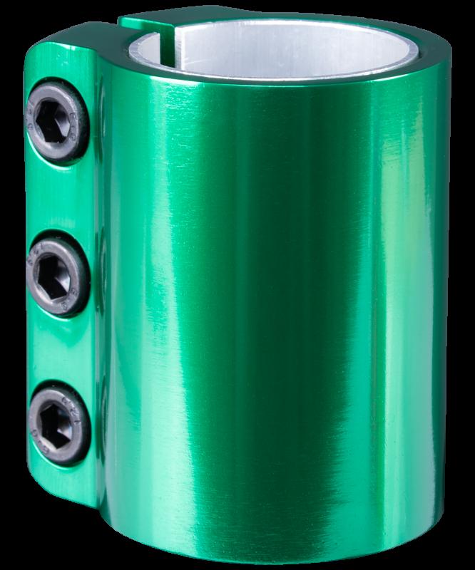 Зажим для трюкового самоката Be-3 Green, XAOS