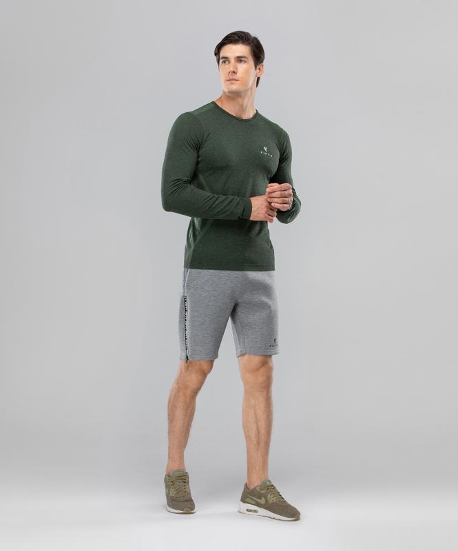 Мужские спортивные шорты Balance FA-MS-0105, серый, FIFTY