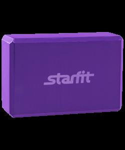 Блок для йоги FA-101 EVA, фиолетовый, Starfit