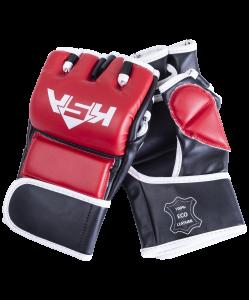 Перчатки для MMA Wasp Red, к/з, L, KSA