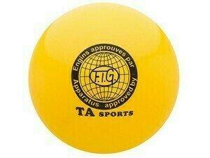 Мяч для художественной гимнастики, 15 см, жёлтый, TA sports