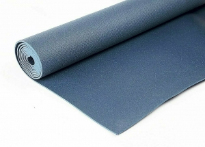 Коврик для йоги Инь Янь Студио RamaYoga синий, 173x60x0.45 см, 1.2 кг
