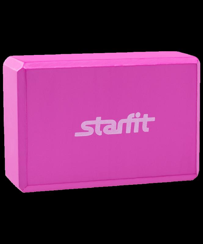 Блок для йоги FA-101 EVA, розовый, Starfit