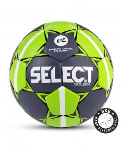 Мяч гандбольный SOLERA IHF №3, сер/лайм, Select