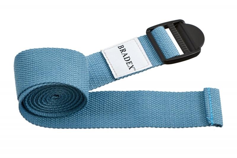 Ремешок для йоги бирюзовый BRADEX SF 0411