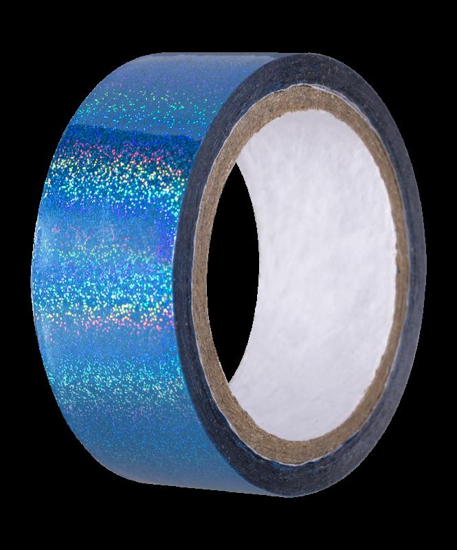 Скотч-лента для художественной гимнастики AGS-301 20 мм*15 м, голубой, Amely