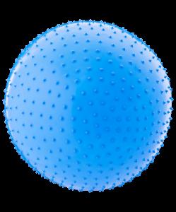 Мяч гимнастический массажный GB-301 65 см, антивзрыв, синий, Starfit