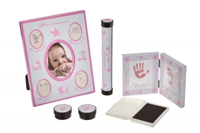 Набор подарочный для новорождённого «МОЯ МАЛЫШКА» BRADEX DE 0132