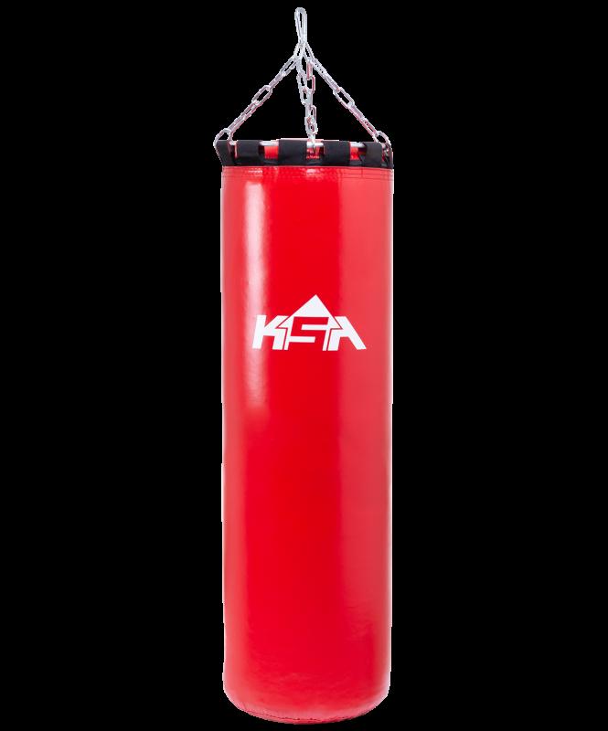 Мешок боксерский PB-01, 50 см, 10 кг, тент, красный, KSA