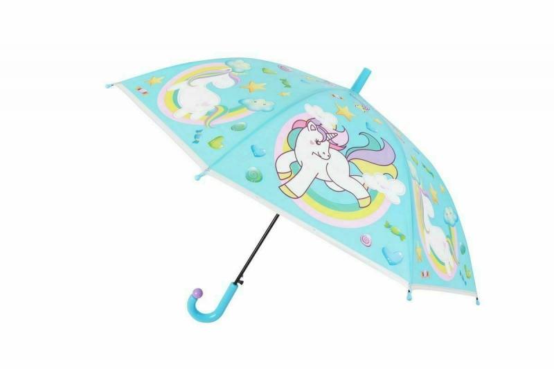 Зонт «ЕДИНОРОГ», голубой BRADEX DE 0496