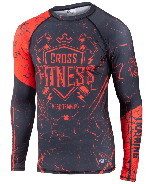 Рашгард для MMA Cross Fitness, взрослый, Rusco