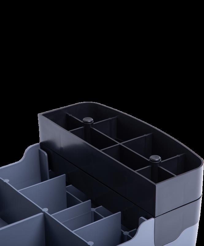 Степ-платформа SP-103 67,5х28,5х15 см, 2-уровневая, Starfit