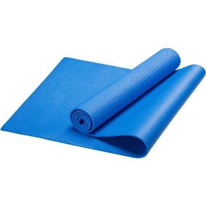 Коврик для йоги, PVC, 173x61x0,4 см (синий) HKEM112-04-BLUE