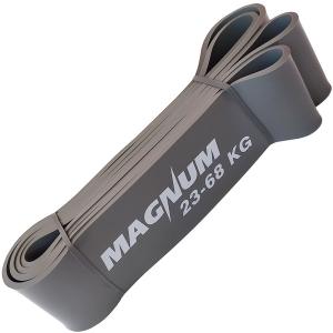 """Эспандер резиновая петля """"Magnum"""" 23-68 кг 63мм серый MRB100-63"""