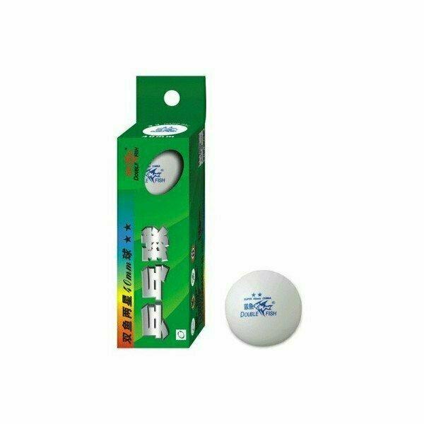Шарики для настольного тенниса 2-звезды (3-шт. белые) H09908