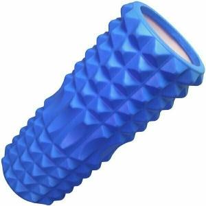 Ролик для йоги B33112 синий 33х13см