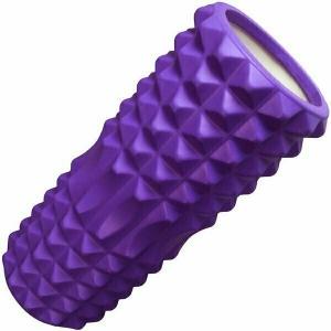 Ролик для йоги B33111 фиолетовый 33х13см