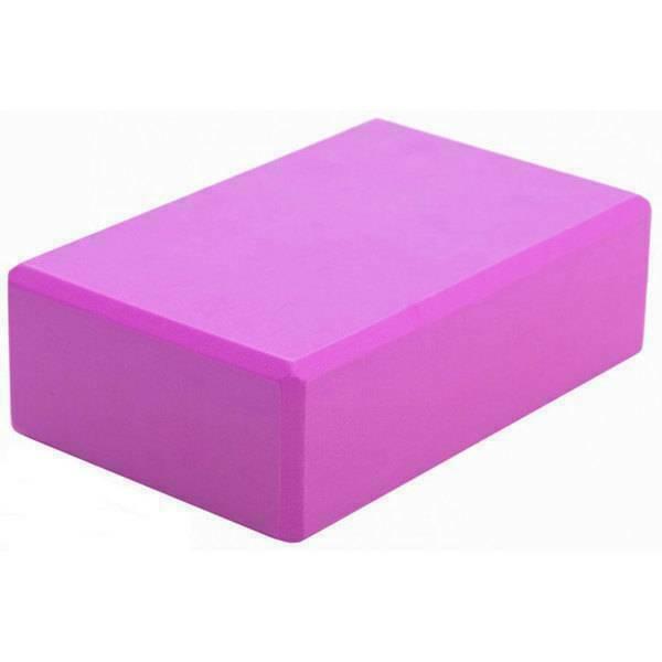 Блок для йоги Cliff розовый