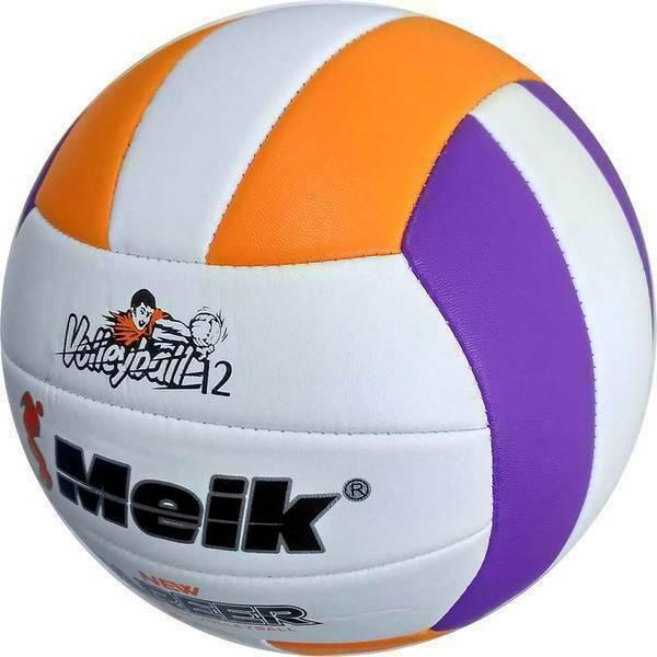 """Мяч волейбольный """"Meik-VM2825"""" пляжный, TPU 2.5, 280 гр, машинная сшивка C28683-1"""