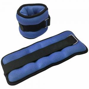 """Утяжелители """"ALT Sport"""" 2х0,75кг нейлон в сумке (синие) HKAW103-1"""