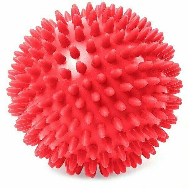 Мяч массажный твердый ПВХ 6 см. C33445 красный