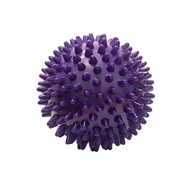 Мяч массажный твердый ПВХ 6 см. C33445 фиолетовый
