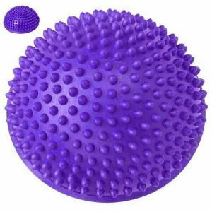 Полусфера массажная круглая надувная d-16 см C33513-2 фиолетовый