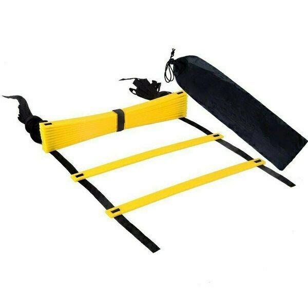 Лестница координационная в чехле желтая