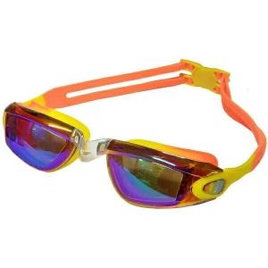 Очки для плавания детские (Желто/оранжевый Мультиколор)