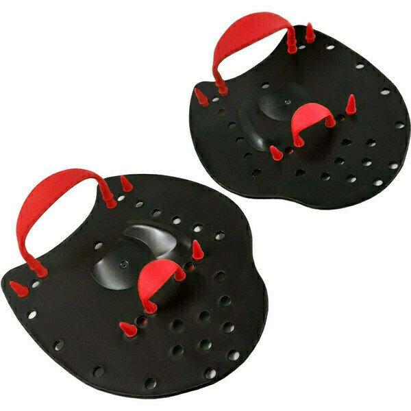 Лопатки для плавания S (Красный) B31541-3