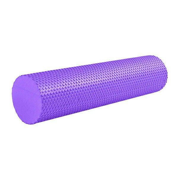 Ролик массажный для йоги фиолетовый 60Х15СМ B31602-7