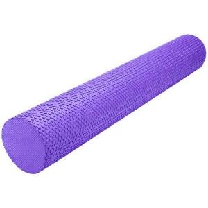 Ролик массажный для йоги фиолетовый 90Х15СМ B31603-7