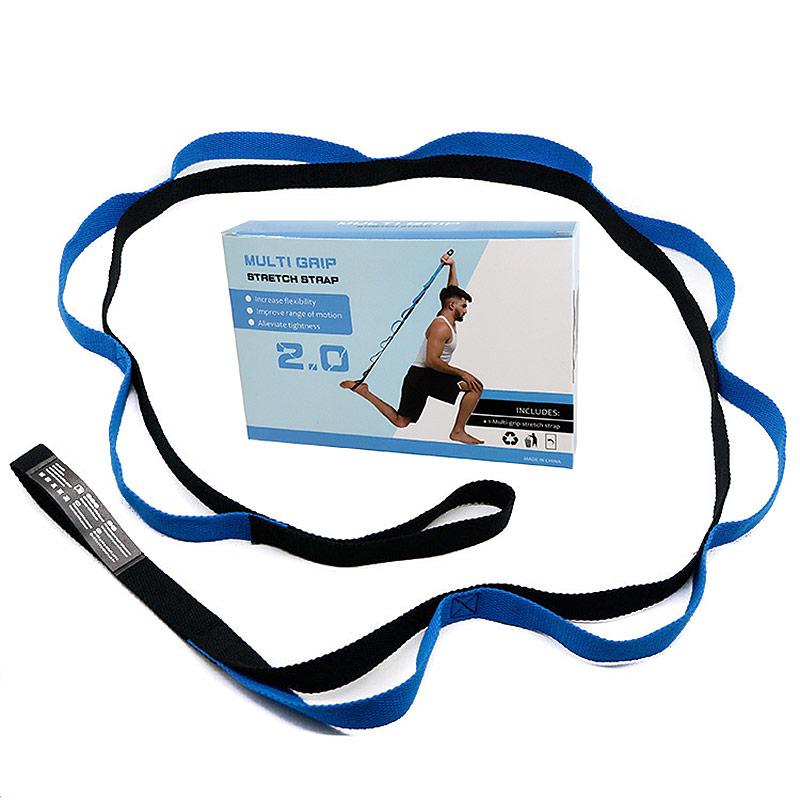 Эспандер эластичная лента 2,5х200 см в коробке синяя B31607