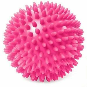 Мяч массажный твердый ПВХ 6 см. C33445 розовый