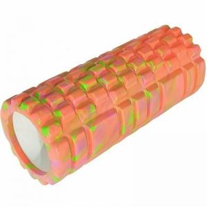 Ролик для йоги 33х14см ЭВА/АБС оранжевый Mix E29382-2