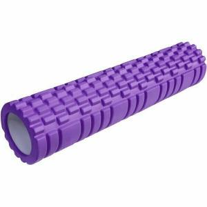 Ролик для йоги 61х13,5см ЭВА/АБС E29390 фиолетовый