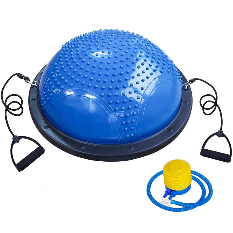 Полусфера для фитнеса BOSU 58см B31652 синяя BOSU033-10
