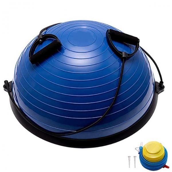 Полусфера гимнастическая BOSU 58см синяя BOSU055-21 (B31662)