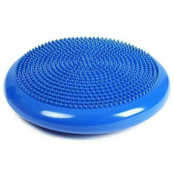 Балансировочная подушка 33 см MSG100-2 синяя