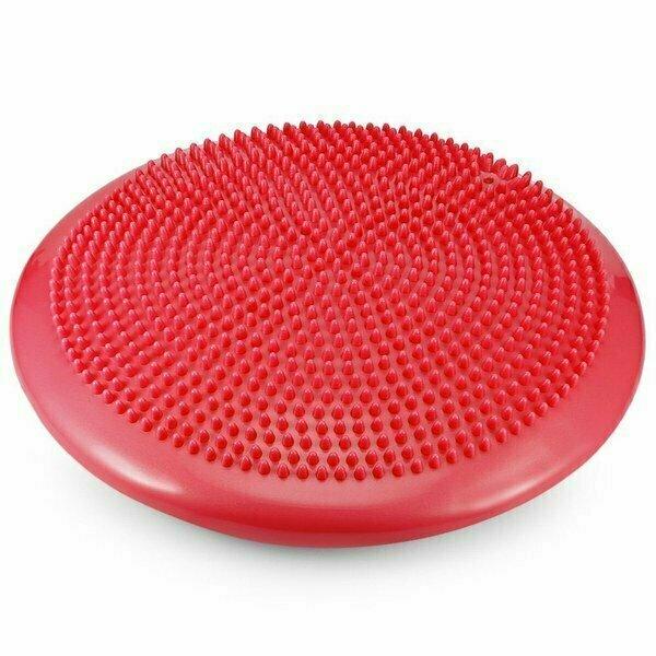 Балансировочная подушка 33 см MSG100-3 красная