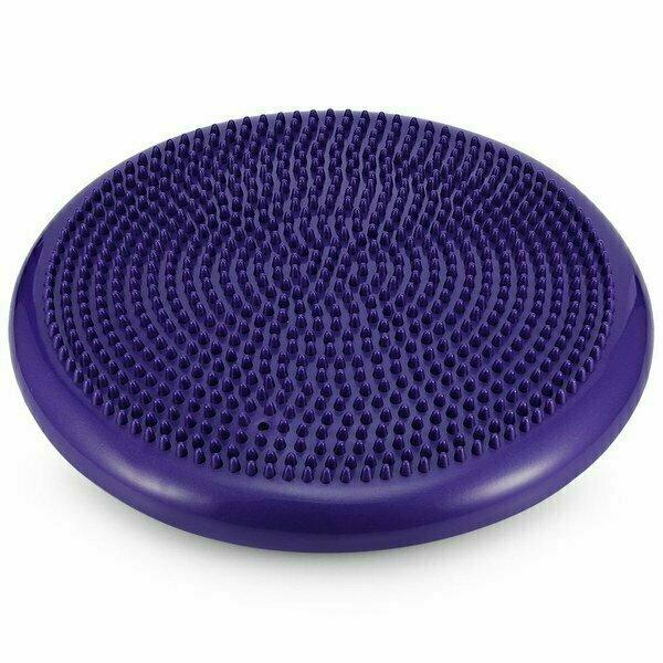 Балансировочная подушка 33 см MSG100-4 фиолетовая