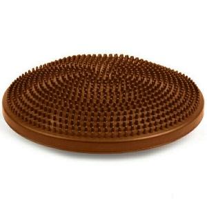 Полусфера массажная овальная надувная коричневая MSG300 d-35см
