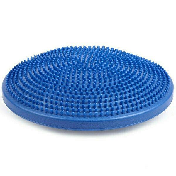 Полусфера массажная овальная надувная синяя MSG300 d-35см