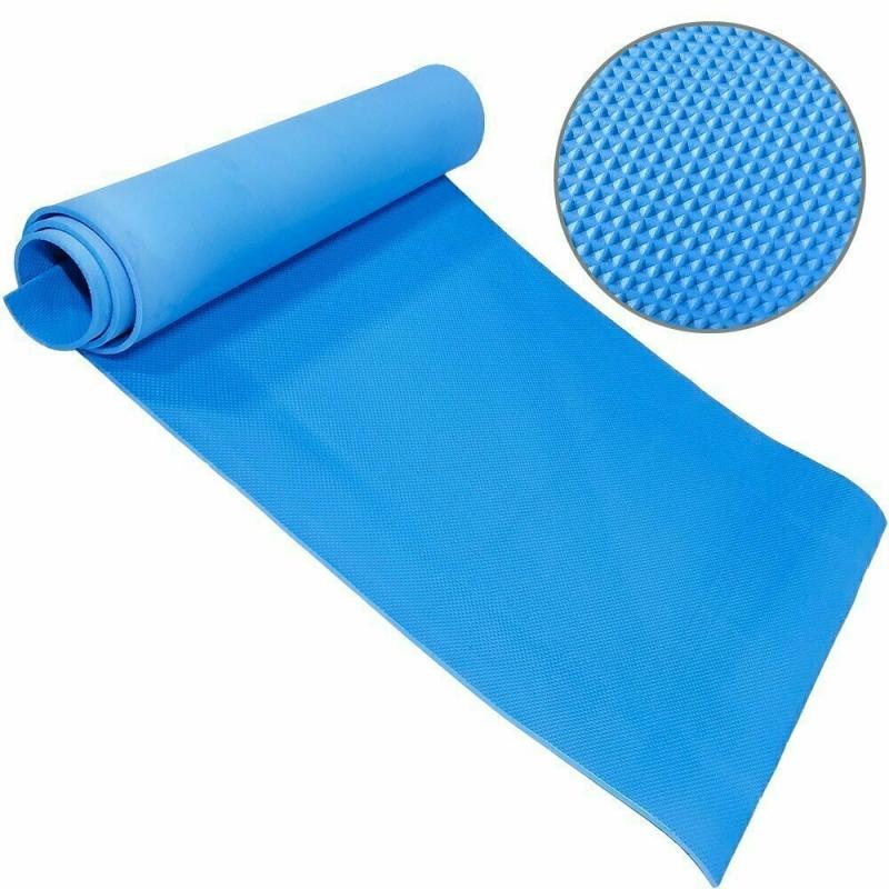 Коврик для йоги ЭВА 173х61х0,8 см (синий) B32217