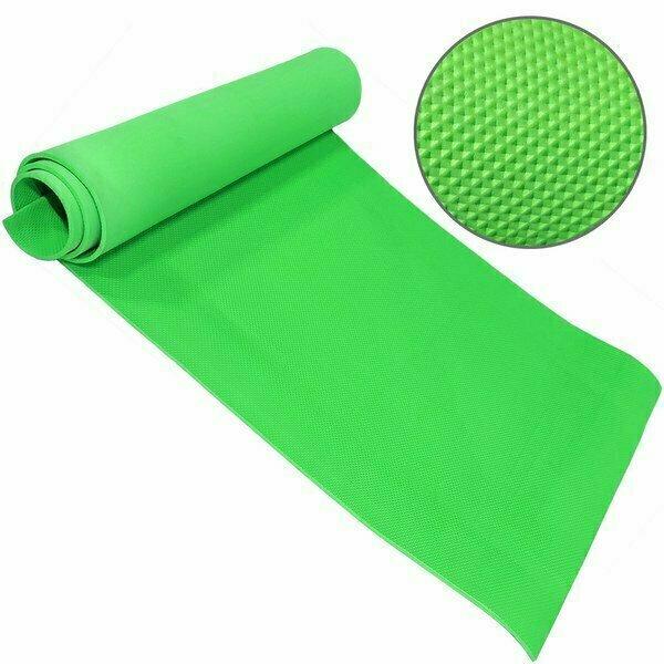Коврик для йоги ЭВА 173х61х0,4 см зеленый B32214