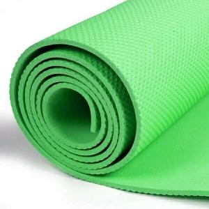 Коврик для йоги ЭВА 173х61х0,8 см (зеленый) B32217