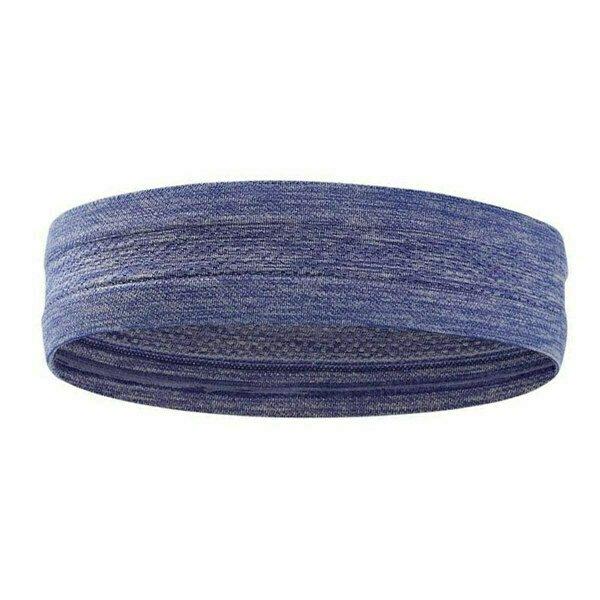 Повязка на голову с силиконом 5х24см (фиолетовая) B34465-5